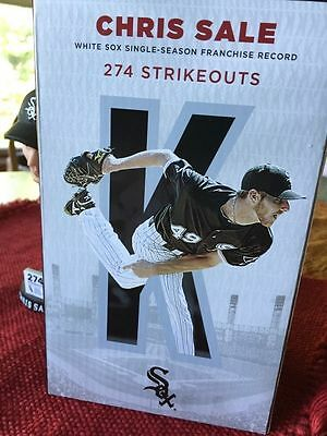 Chris Sale Chicago White Sox Red Sox bobblehead Soxfest NIB