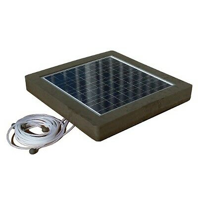 Natural Current Savior Ozone Aerator Pool Spa Pond Solar Powered Filter System,