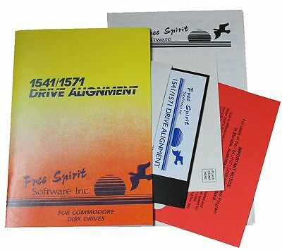 Commodore 64 & 128 SX64 1541 & 1571 Drive Alignment Package by Free Spirit
