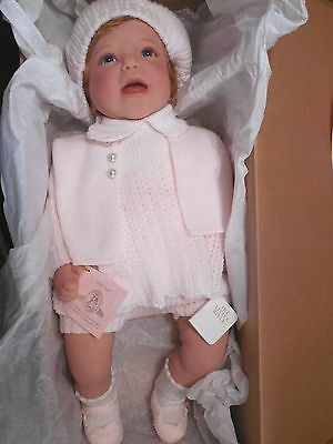 "VTG 1999 LEE MIDDLETON 20"" RedHead BABY REAL DOLL MOMMYS GOOD GIRL Christmas NIB"