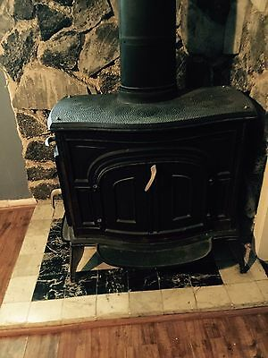Vintage olympic wood cook stove