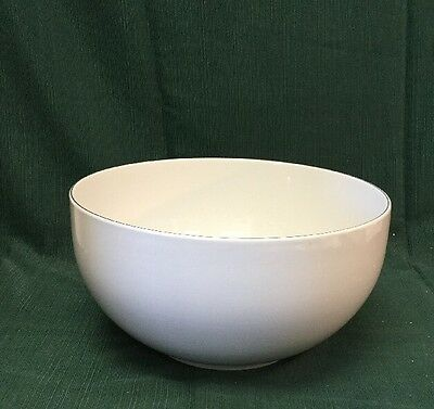 Beautiful Large Marked Denmark Gray Center Piece Bowl Good Condition