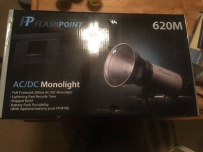 Flashpoint Solo Portrait 620M MonoLight Kit with Rechargeable Battery Pack