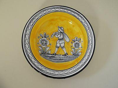 Vintage Hand Painted Pasta Plate from Sevilla Spain