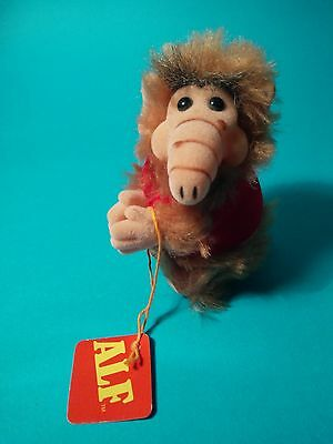 Vintage ALF clip Hanger toy Bully 1998 New with tag
