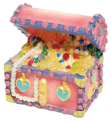Princess Treasure Chest Aquarium Ornament Fish Tank Decoration