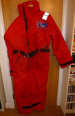 Used Mainstream one piece Flotation Suit rated for over 10 stones max height 6ft