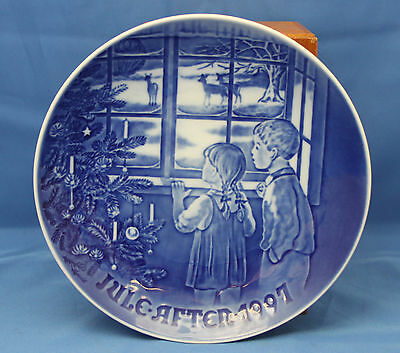 "Bing & Grondahl CHRISTMAS PLATE 1997 - Country Christmas - 7.25"" B&G"