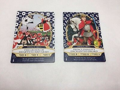Sorcerers of the Magic Kingdom Cards #37 and #33 Trading Cards Disney