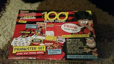 Beano Dennis the menace and gnasher  over 100 prank ideas