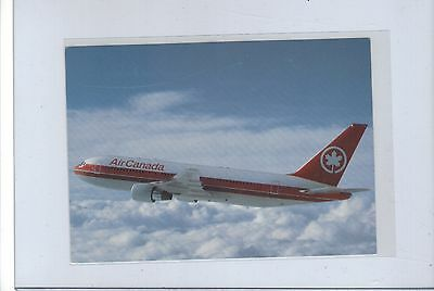 Air Canada airlines issued Boeing 767 cont/l  postcard