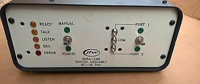 JFW 50sa-298 SMA RF Switch DC-18GHZ with IEEE-488 GPIB