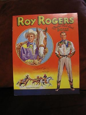 Roy Rogers Rodeo Cut Out Paper Dolls