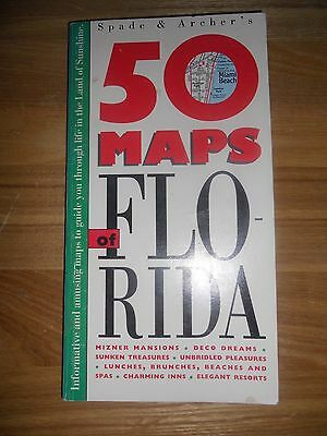 50 Maps of Florida by Gousha (Paperback, 1991)
