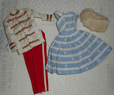 Barbie doll vintage clothes and odds and ends