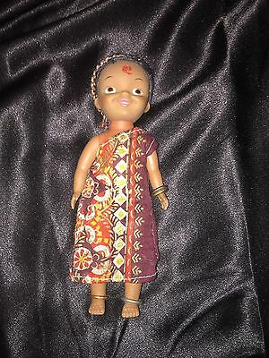 """Vintage Disneyland """"It's a Small World"""" Doll- Africa"""