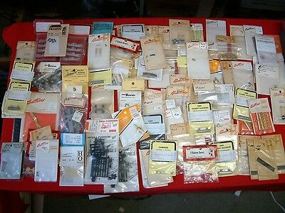 Ho Scale Detail Parts, Eng.-Cars-Buildings. Over 120 Pk.. All New In Packages.