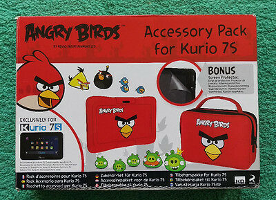 Angry Birds Accessory pack for Kurio 7S NEW