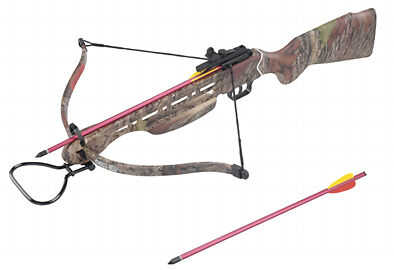 Man Kung 150 Lbs Hunting Crossbow Camouflage Body