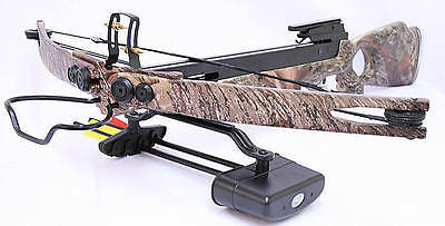 Man Kung MK250ATC Compound Hunting Crossbow Camouflage Cross Bow
