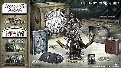 Assassins Creed Syndicate Big Ben Collector's Edition PS4 NEW