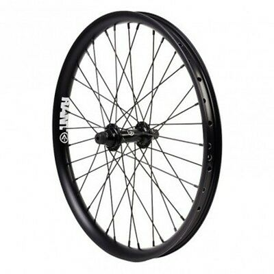 "RANT Sealed Front BMX Wheel Black 20"" - NEW 20 Inch Front Wheel Only"