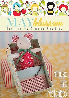 MOUSE IN A MATCHBOX SEWING PATTERN, From Creative Abundance NEW
