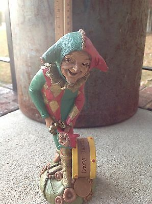 Court Jester Thomas Clark Collectible Statue With Certificate