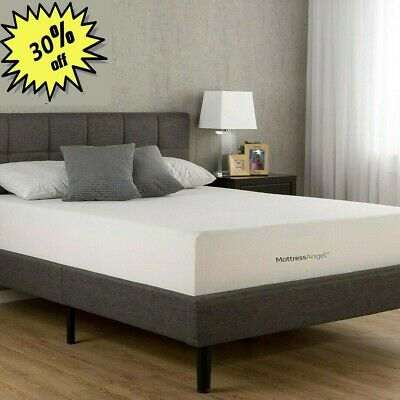 "8"" COOL MEDIUM Memory Foam Mattress - TWIN, FULL, QUEEN, RV QUEEN, KING, USA 2 1"