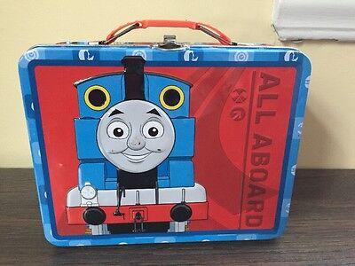 Thomas and Friends Tin Lunch Box Thomas The Train All Aboard
