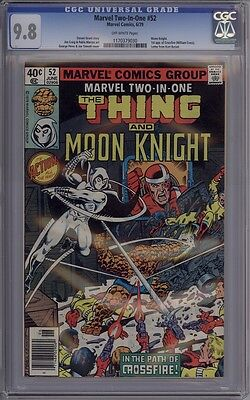Marvel Two-In-One #52 - CGC Graded 9.8