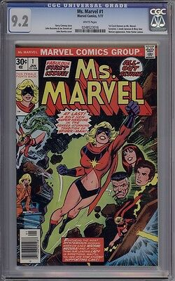 Ms. Marvel #1 - CGC Graded 9.2 - 1st Ms. Marvel