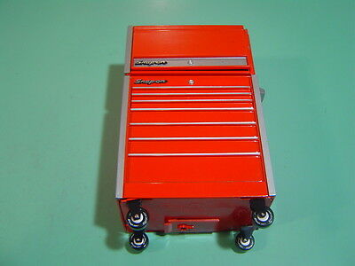 Snap On Tools Mini Tool Box Coin Bank, Red, Excellent condition