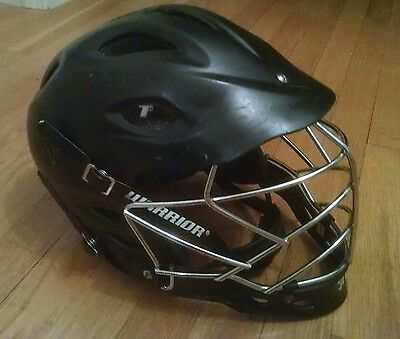 Warrior T2 Lacrosse Helmet - Black