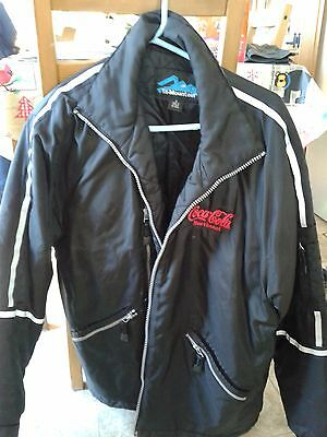 Coca-Cola Men's Driver's Winter Work Jacket by Tri-Mountain, size small