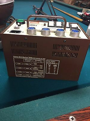 Speedotron D604 Power Supply, Flash Heads, Stands, Umbrellas & Case