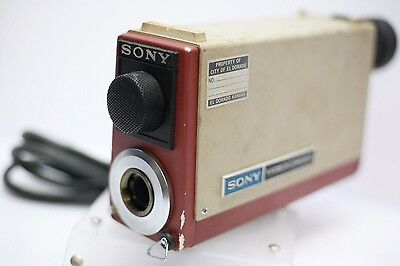 Sony Videocorder AVC-3400 C Mount Tube Black & White Video Camera Camcorder