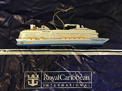 NEW Official Royal Caribbean Anthem of the Seas Ornament Christmas Tree RCCL