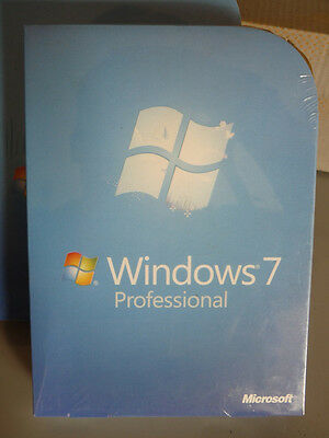 Microsoft Windows 7 Professional 32 and 64 bit Full Version with DVD