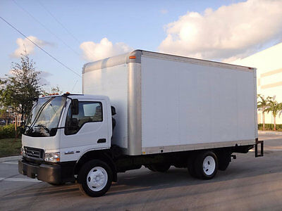 2006 Ford LCF 16ft Box Truck 4.5L Turbo Diesel Anthony Lift Gate Automatic NPR
