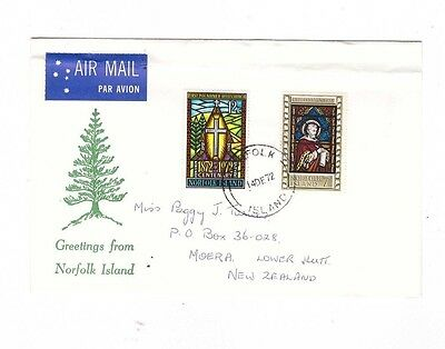 Norfolk Island 1972 Commercial COVER
