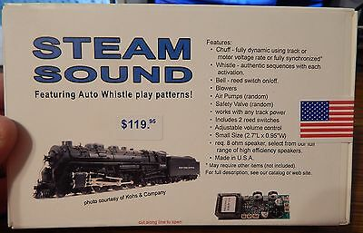 Dallee #903 Steam Sound Kit Featuring Auto Whistle Play Patterns New In Box Lqqk