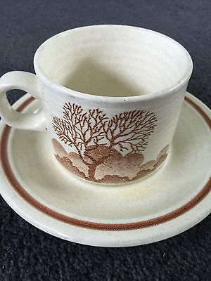 Churchill Cup & Saucer  Made In England