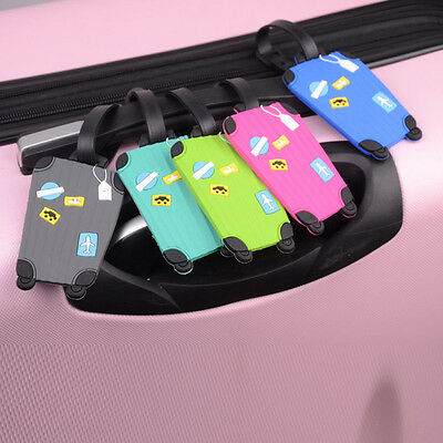 Travel Suitcase Luggage ID Tags Labels Name Address ID Suitcase Bag Superb