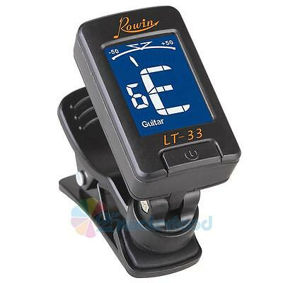 Clip-on Guitar Tuner For Electronic LCD Digital Chromatic Bass Violin Ukulele