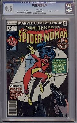 Spider-Woman #1 - CGC Graded 9.6