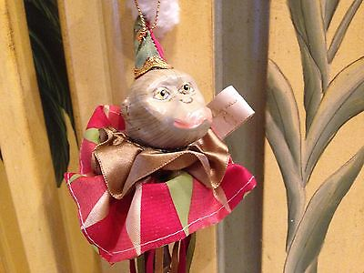 Katherine's Collection Ornament Monkey New Old Stock!!!!