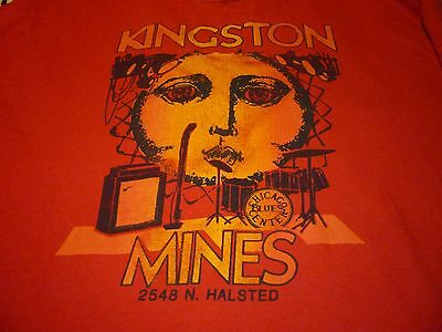 Kingston Mines Shirt ( Used Size XL ) Very Good Condition!!!