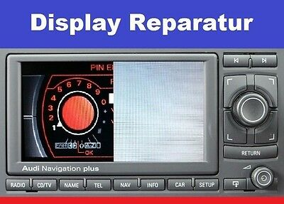 Navigation Plus RNS-E Display ✅ Reparatur 99% Erfolg RNSE - NEP70
