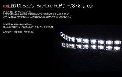 exLED DL Block Universal EyeLine PCB (all vehicles compatible)